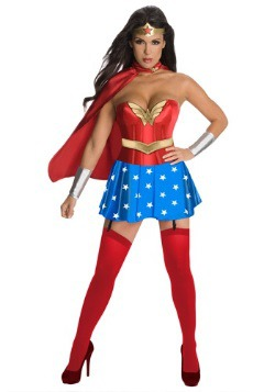 Disfraz de Corsé de Wonder Woman