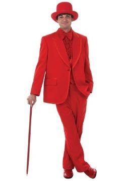 Esmoquin rojo para hombre