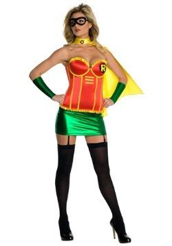 Disfraz de corsé Robin